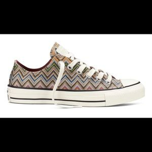 Missoni Converse Low tops